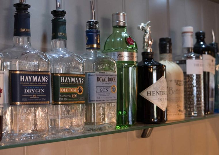 The Folly Bistro - Gin